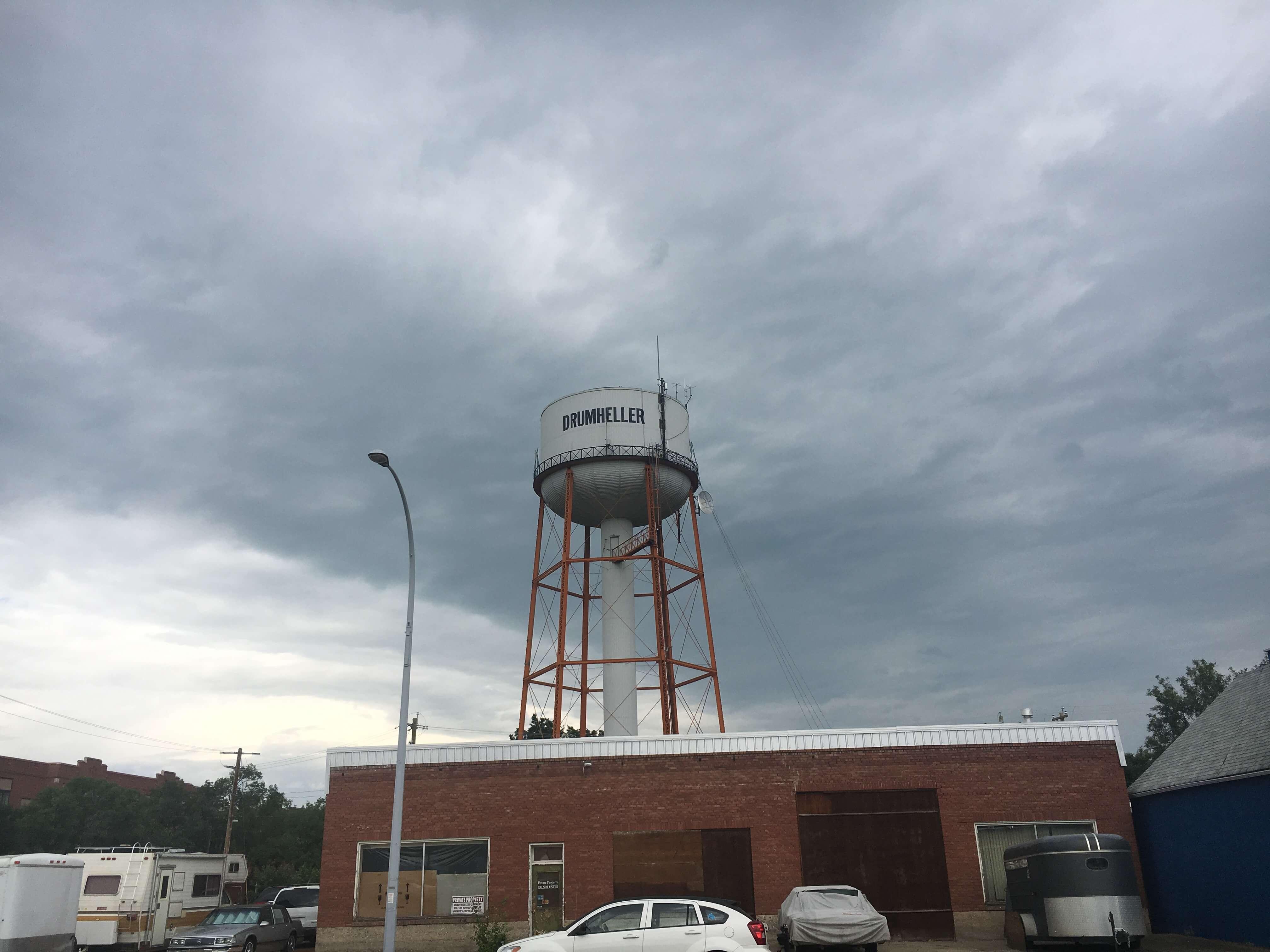 Drumheller water tower